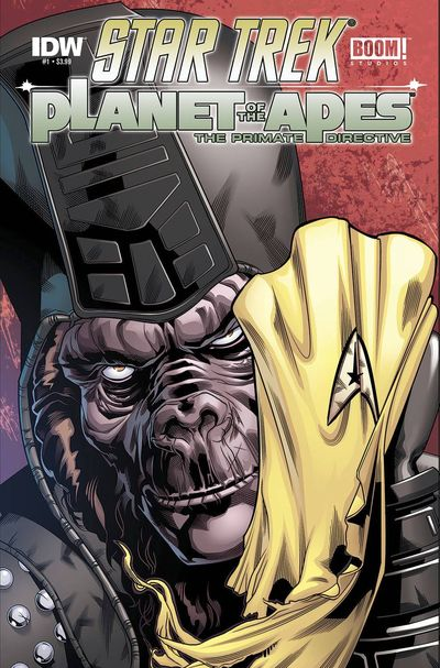 Star Trek Planet Of The Apes #1 (of 5)