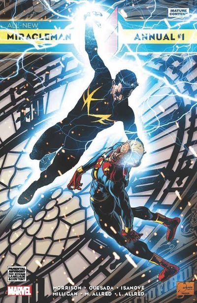 All New Miracleman Annual #1 (Quesada Variant Cover Edition)