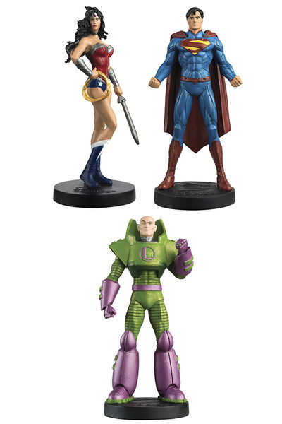 DC Masterpiece Figure Coll Mag #3 Justice League Set OCT151926H