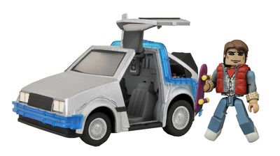 Back To the Future Minimates Time Machine #1 OCT152183U