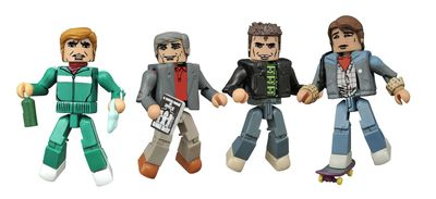 Back To the Future 30th Ann Minimates 1985 Set OCT152184U