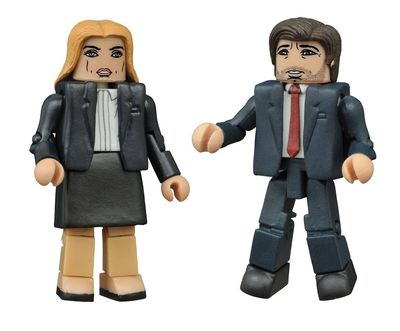 X-Files Minimates 2-pack OCT152185U