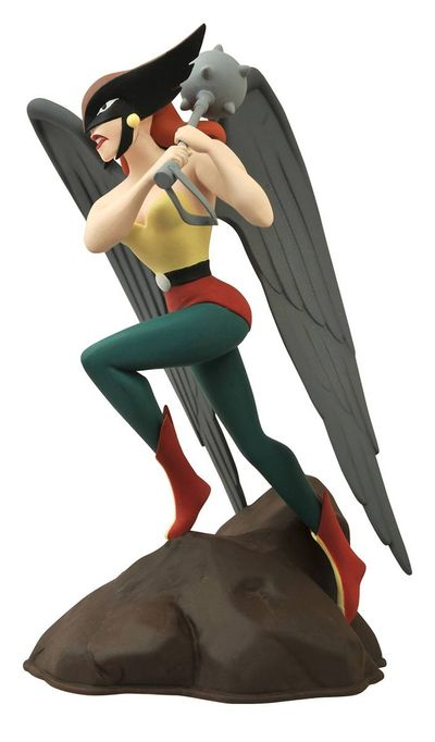 Femme Fatales JLA the Animated Series Hawkgirl Pvc Statue OCT152190U