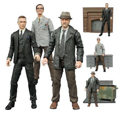 Gotham Select Bullock Action Figure OCT152194I