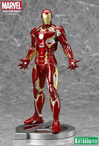 Marvel Iron Man Mk 45 Artfx Statue