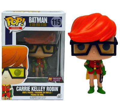 Pop DC Heroes Dark Knight Returns Carrie Kelly Robin Previews Exclusive Vinyl Figure OCT158905I