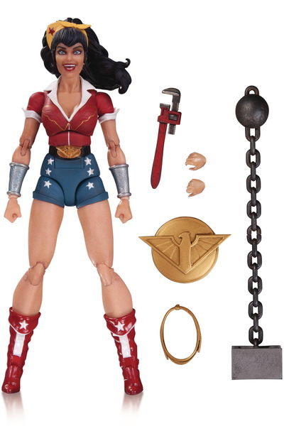 DC Designer Series Bombshells Ant Lucia Wonder Woman Action Figure OCT160336Y
