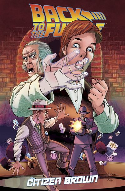 Back to the Future: Citizen Brown TPB OCT160448E