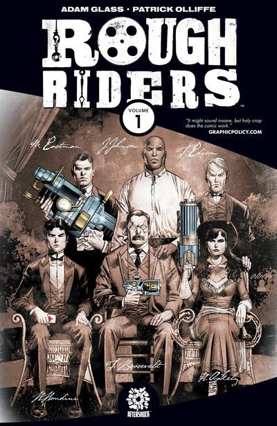 Rough Riders comics at TFAW.com