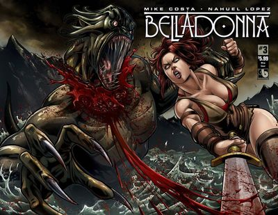 Belladonna #3 Wrap Cover