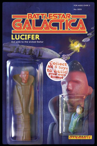 Battlestar Galactica Vol. 3 #5 (of 5) (Cover B - Action Figure)