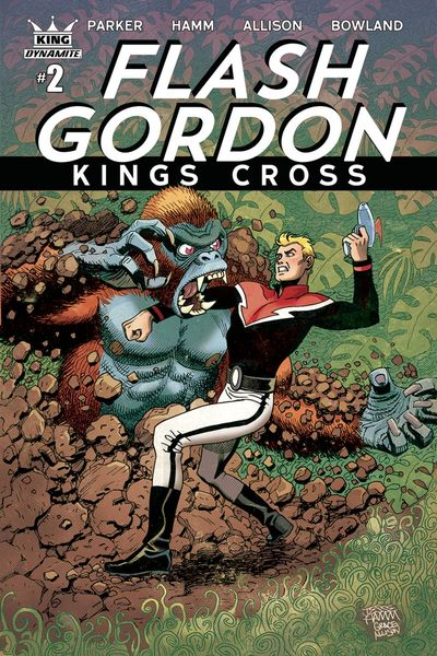 Flash Gordon Kings Cross #2 (of 5) (Cover A - Hamm)