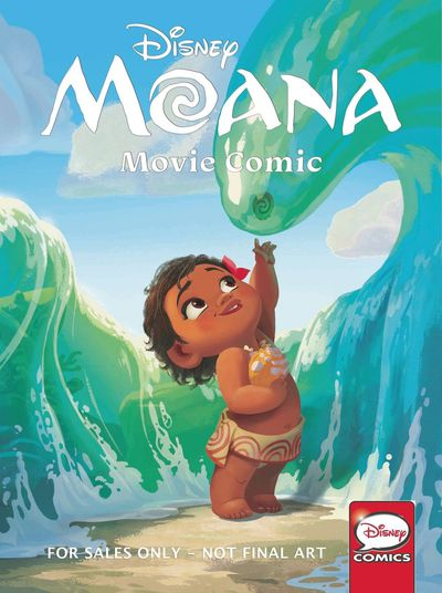 Disney Moana Movie Comic TPB OCT161655F