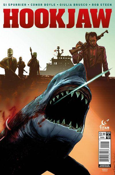 Hook Jaw comics at TFAW.com