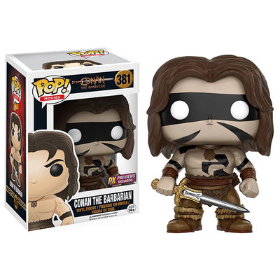 Pop Conan the Barbarian Warpaint Version Previews Exclusive Vinyl Figure JUL168477I
