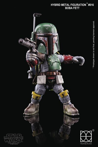 Star Wars HMF-016 Boba Fett Action Figure OCT168677U