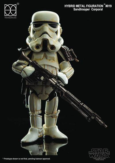 Star Wars HMF-019C Sandtrooper With Black Pauldron Action Figure OCT168679U