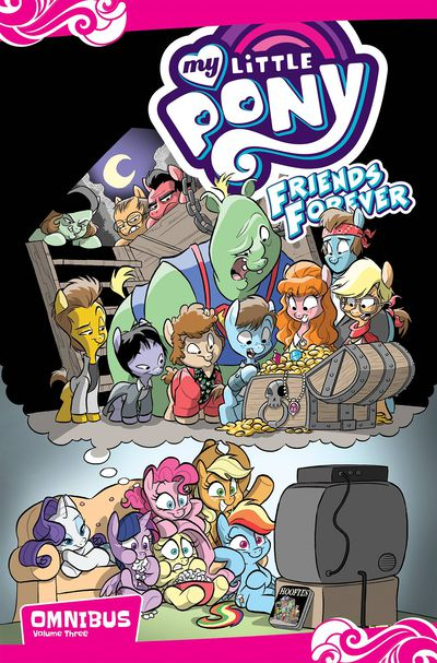 My Little Pony Friends Forever Omnibus TPB Vol 03 OCT170494