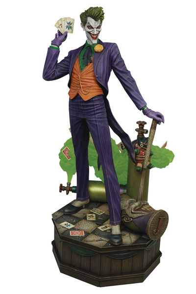 DC Super Powers Coll Joker Maquette OCT172424