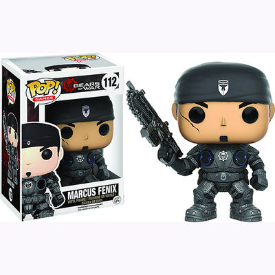 Pop Games Gears of War Marcus Fenix Vinyl Figure POP10320