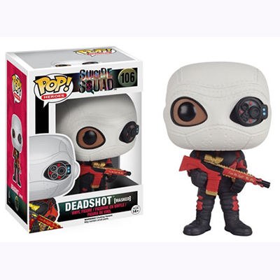 Pop Movies: Suicide Squad - Deadshot Vinyl Figure (Masked) POP8360