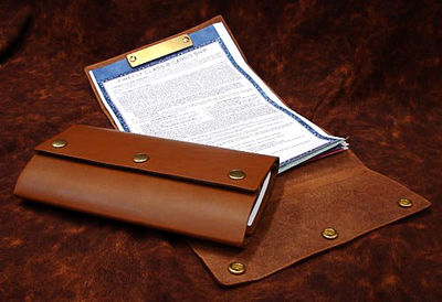 Serenity Ship's Papers Set with Document Wallet