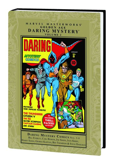 Marvel Masterworks: Golden Age Daring Mystery Vol. 2 HC SEP090498D