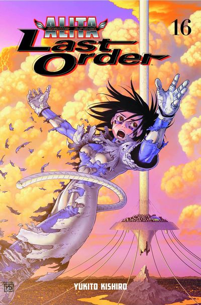 Battle Angel Alita Last Order TPB Vol. 16