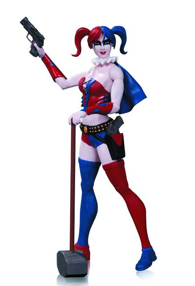 DC Comics Super Villains Harley Quinn Action Figure SEP130327Y