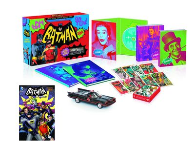 Batman Complete Tv Series Exc Lim Ed Blu-ray & Book Set SEP140284U