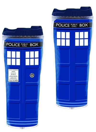 Doctor Who Tardis Full Color Flask SEP142395U