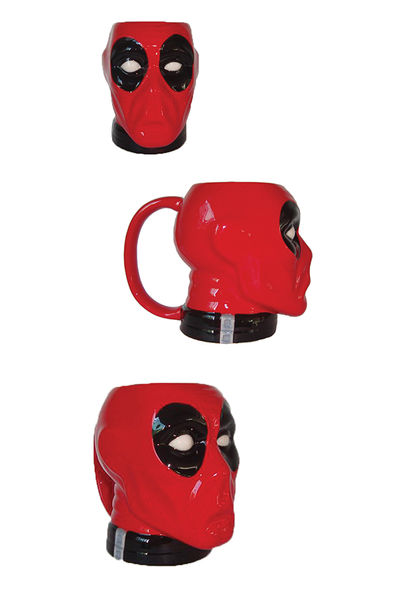 Deadpool Previews Exclusive Molded Head Mug