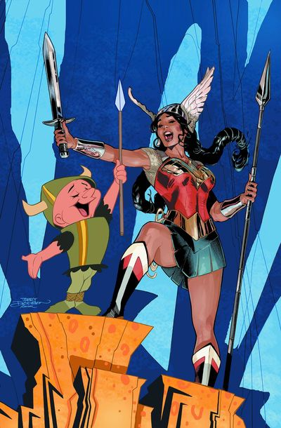 Elmer Fudd and Wonder Woman