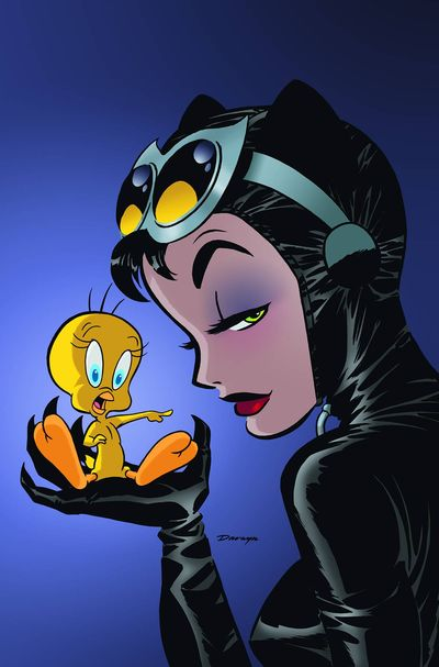 Tweety Pie And Catwoman