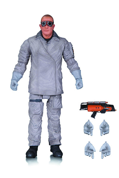 Flash TV Heat Wave Action Figure SEP150343Y