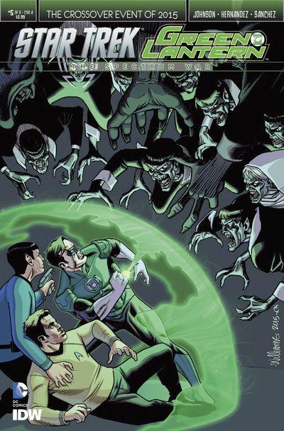 Star Trek Green Lantern #5 (of 6)