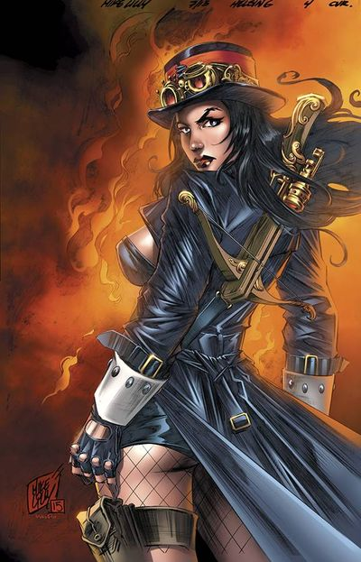 Grimm Fairy Tales Van Helsing vs. Dracula #4 (of 5) (Cover A - Lilly)