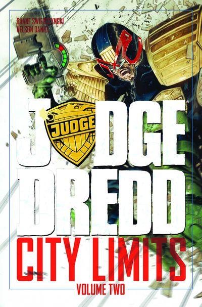 Judge Dredd City Limits TPB Vol. 02