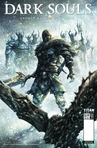 Dark Souls Winters Spite #1 (of 4) (Cover A - Quah)
