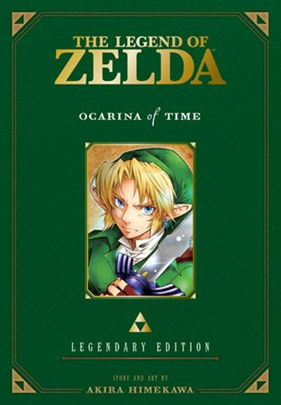 The Legend of Zelda: Legendary Edition, Vol. 1: Ocarina of Time cover