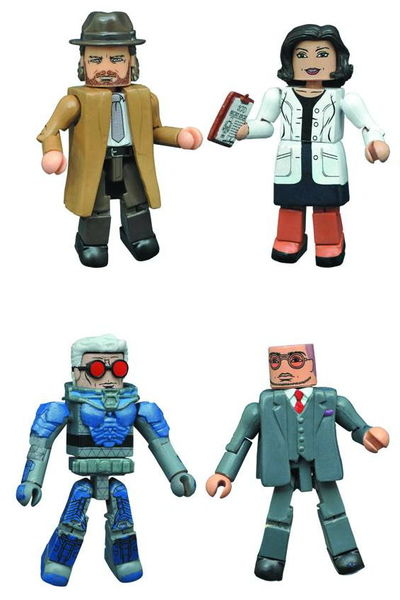 Gotham Minimates Series 4 Set SEP162528U