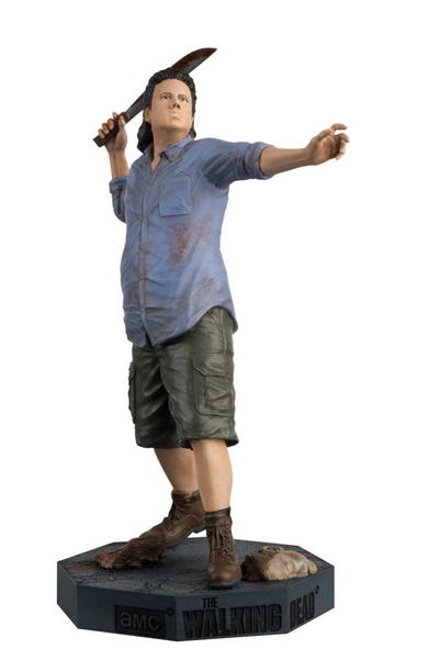 Walking Dead Figure Coll Mag #22 Eugene SEP162557U