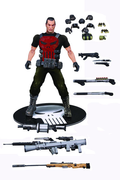 One-12 Collective Previews Exclusive Punisher Deluxe Action Figure SEP162563J