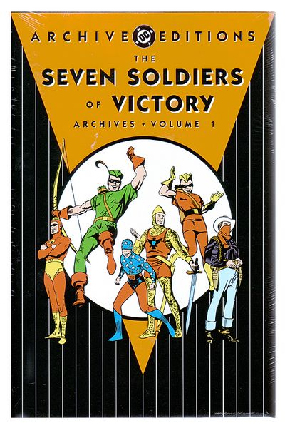 DC Archives - Seven Soldiers Of Victory HC Vol. 01