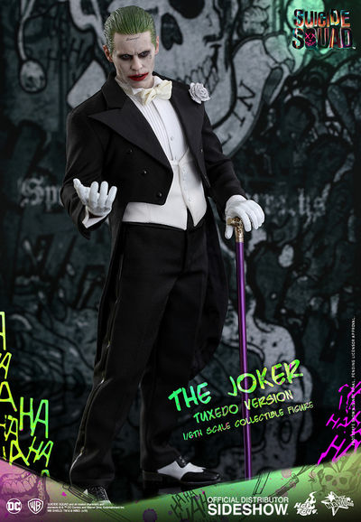 Hot Toys Suicide Squad The Joker Tuxedo Version 1/6 Scale Figure SIDE-902791
