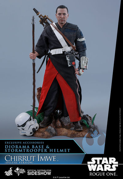 Star Wars Rogue One Chirrut Îmwe 1/6 Scale Figure (Deluxe Version) SIDE-902913