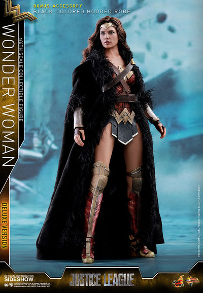 Hot Toys Justice League Wonder Woman Movie Masterpiece 1/6 Scale Figure (Deluxe Version) SIDE-903121