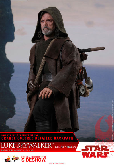 Star Wars The Last Jedi Luke Skywalker Movie Masterpiece 1/6 Scale Figure (Deluxe Version) SIDE-903204