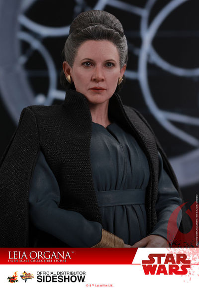 Star Wars The Last Jedi Leia Organa Movie Masterpiece 1/6 Scale Figure SIDE-903333