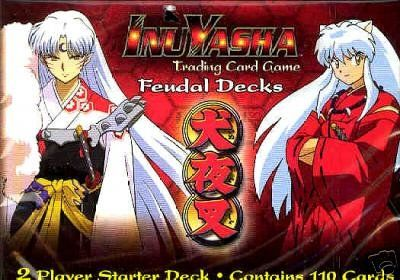 InuYasha TCG Feudal Decks 2 Player Starter Deck - nick & dent